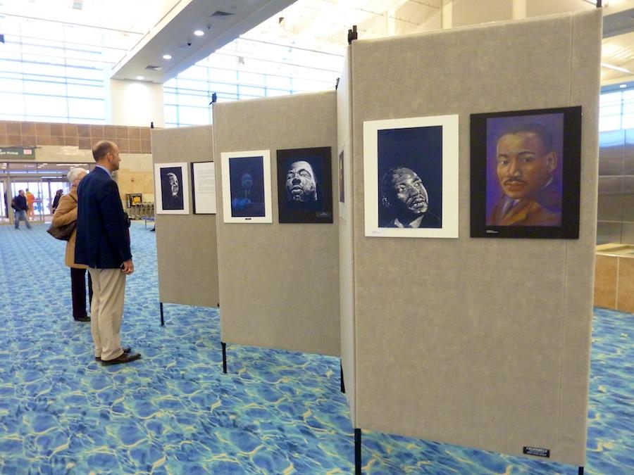 Sky Gallery Reception honors SRAC Member Artists and MSU Art & Design Students
