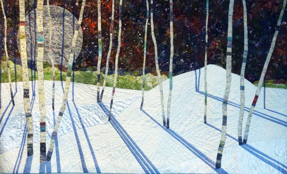 """""""A Sense of Place"""" textile and fiber art show at Sky Gallery"""