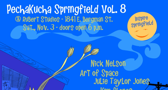 PechaKucha Night vol. 8 on Nov. 3