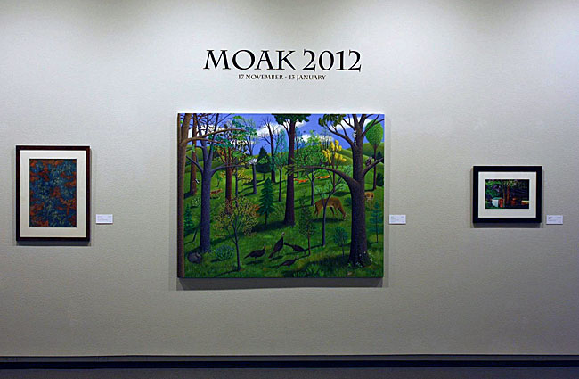 MOAK 2012 Premier Exhibition for Regional Artists at Springfield Art Museum