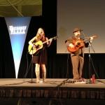 Cindy Woolf and Mark Bilyeu perform