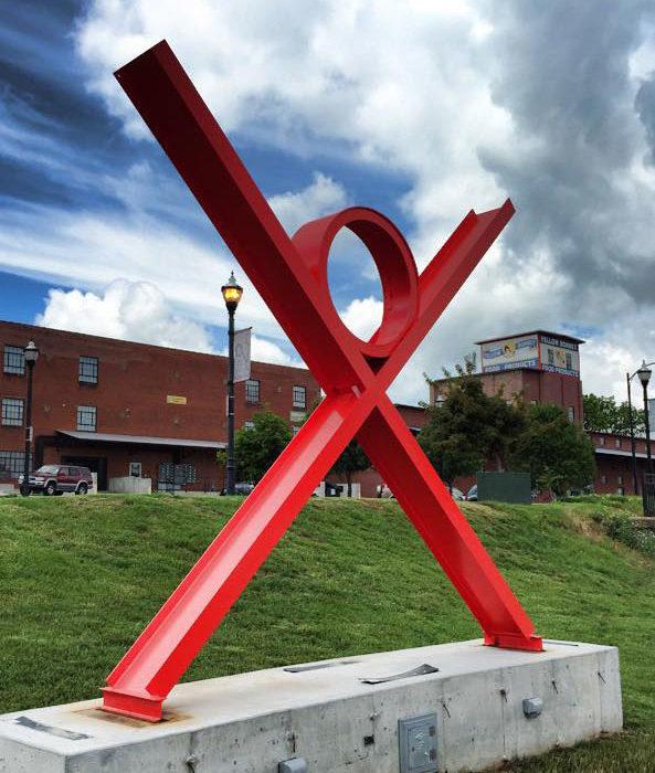 ideaXfactory sculpture by Russ RuBert